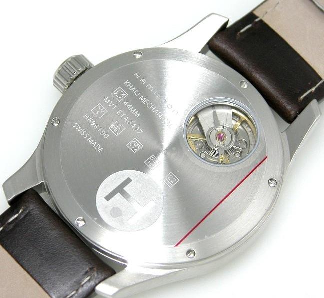 Aide ! Une montre type militaire à bas prix Hamiltonverso