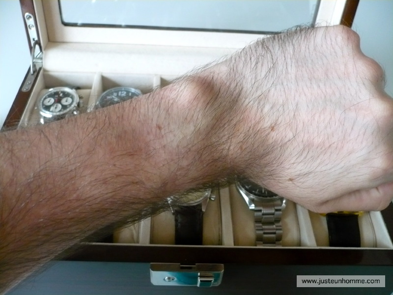 Guide des tailles de montres pour un poignet de 17 cm 03